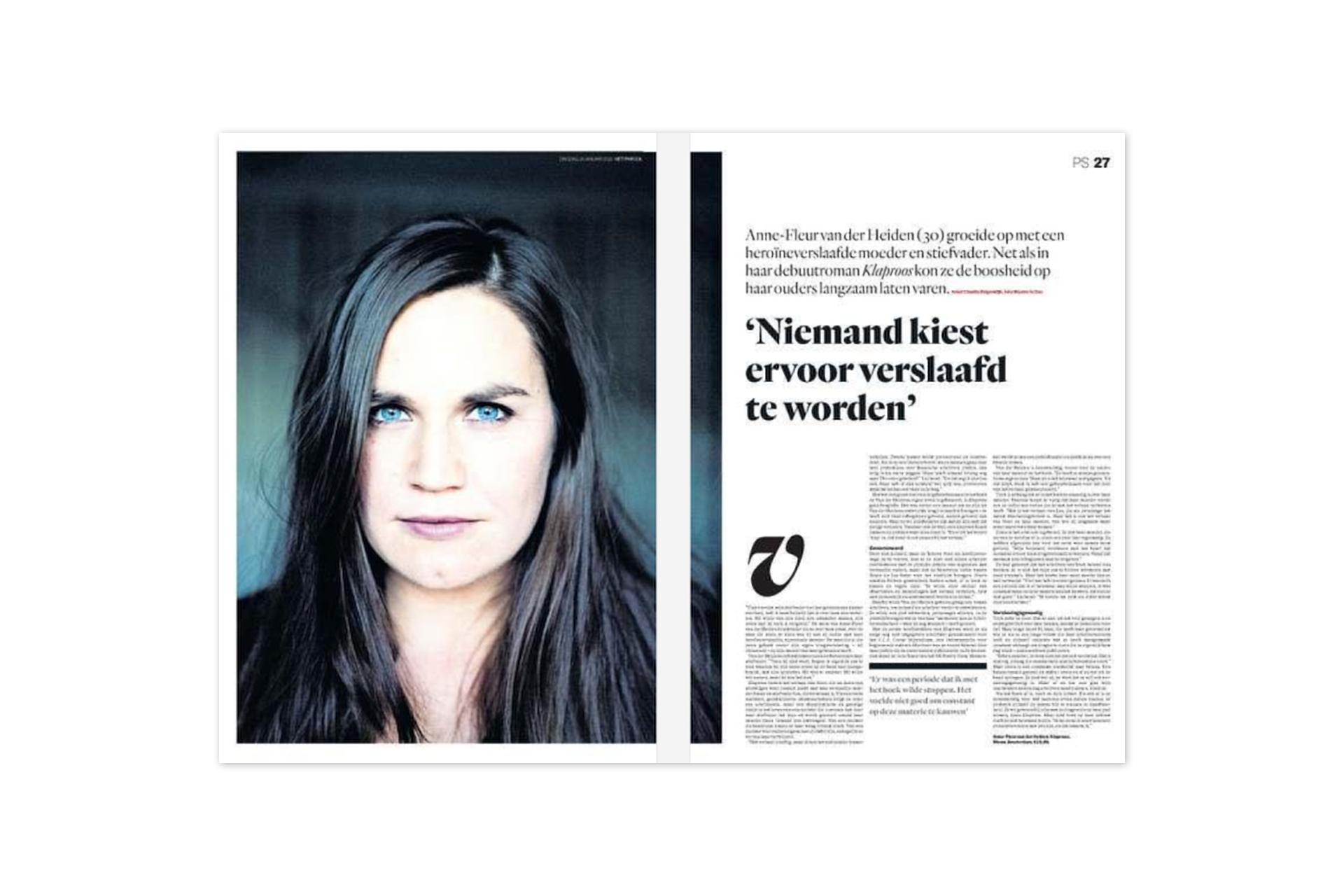 PAROOL - Anne-Fleur van der Heiden - Klaproos roman